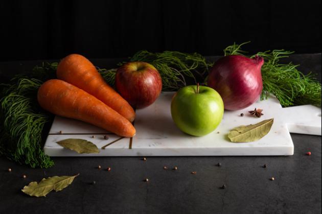 美顏蘋果紅蘿蔔濃湯 2
