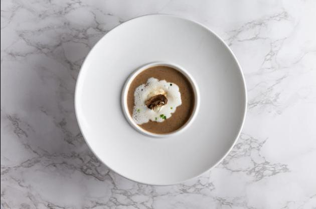 松露奶油蕈菇濃湯 3
