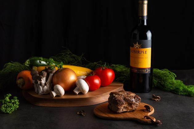 松露波爾多紅酒燉牛肉 3