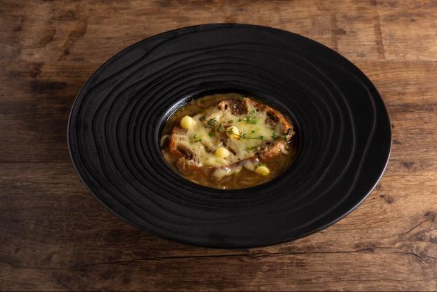 法式焗烤洋蔥湯 2