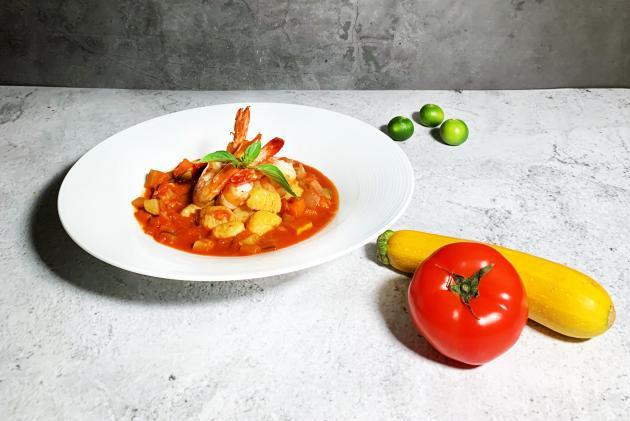 料理鼠王(尼斯蕃茄燉蔬菜佐法式麵疙瘩) 2